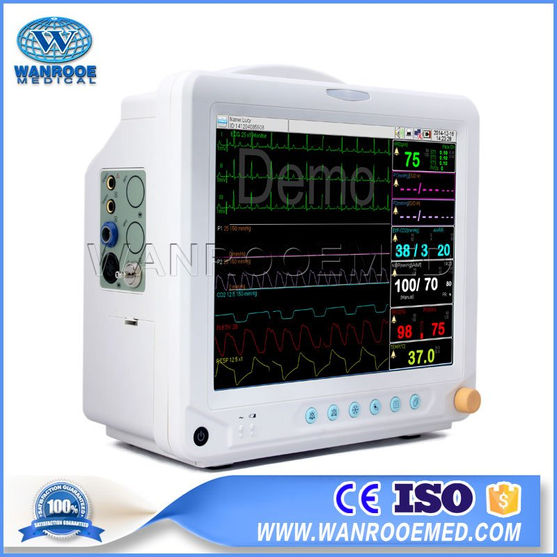 Multi Parameter Patient Monitor, Portable Patient Monitor, Patient Monitoring System, Emergency Patient Monitor