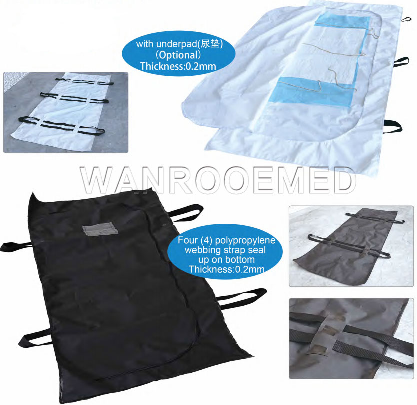 Cadaver Bag, Coroner Body Bag, Mortuary Bag, Body Bag, Cadaver Bag With Handles