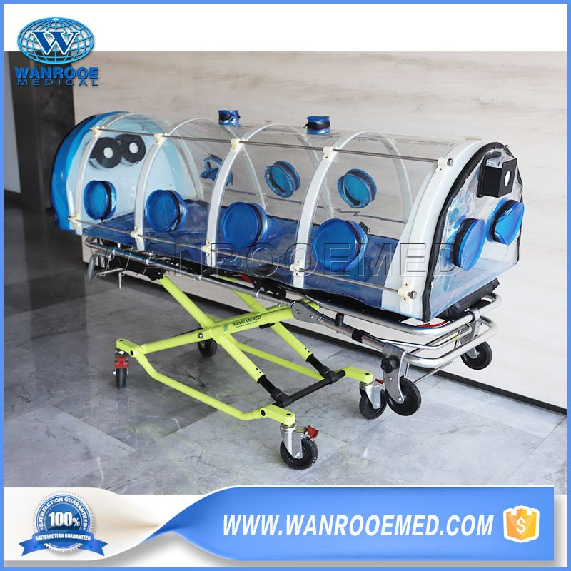Containment Stretcher, Patient Containment Stretcher, Stretcher for Infectious Disease, Isolation Stretcher