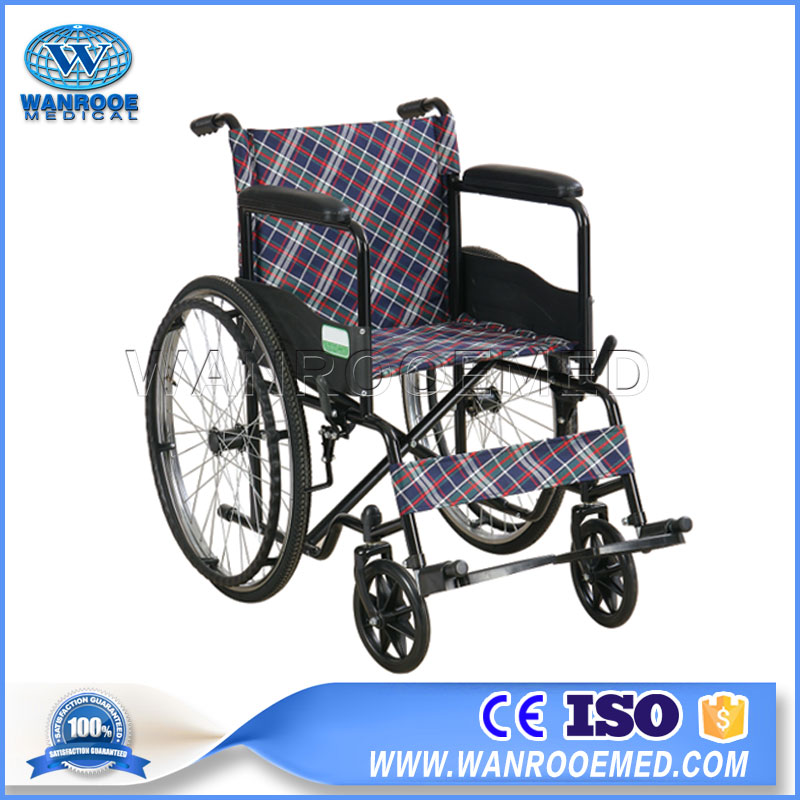 Wheelchair For Disabled, Manual Wheelchair, Hospital Lightweight Wheelchair