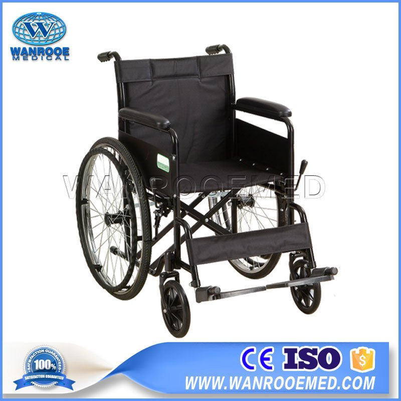 Wheelchair For Disabled, Folding Manual Wheelchair, Medical Lightweight Wheelchair