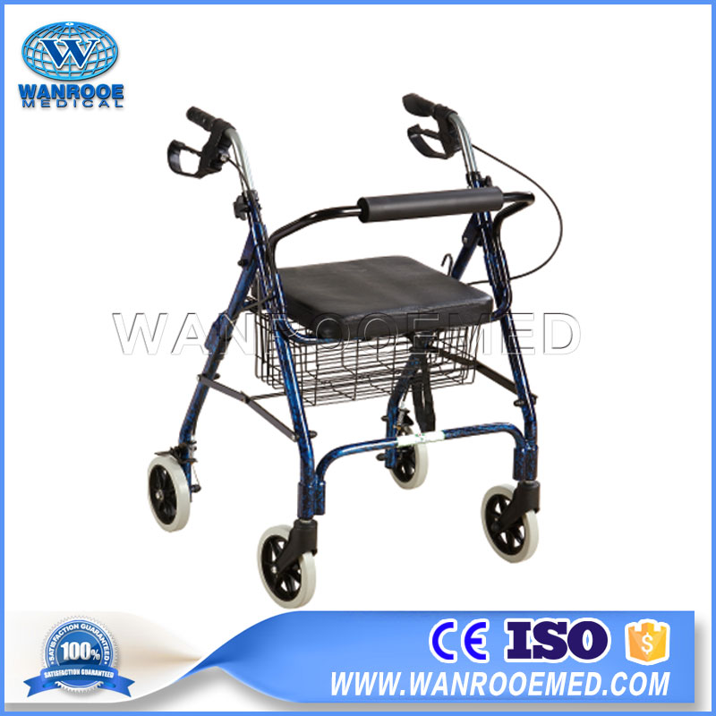 Walking Aid Walker, Aluminum Walker, Medical Crutch, Adjustable Walker