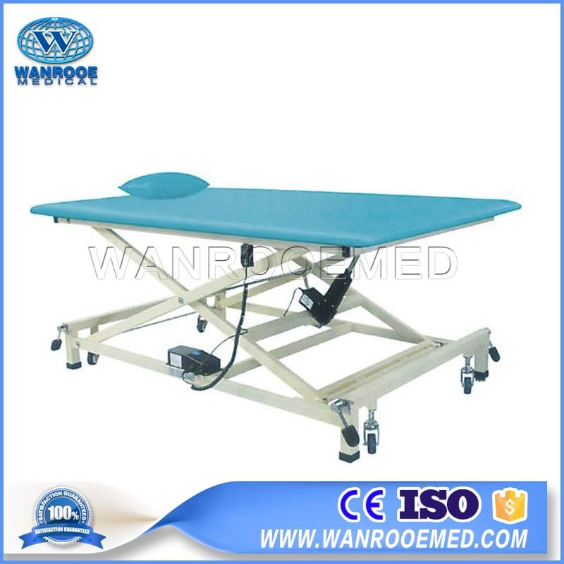 Electric Training Bed, Medical Training Table, Hospital Rehabilitation Equipment, PT Training Bed