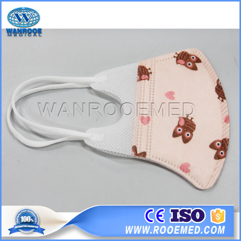 Infant Face Mask, Baby Face Mask, Kid Face Mask, Disposable Kid Mask, Stereo Face Mask, Cartoon Face Mask