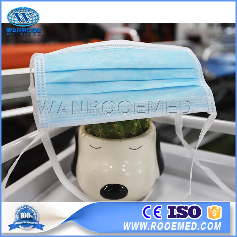 Face Mask With Adjustable Straps, Disposable Face Mask, Non-woven Face Mask