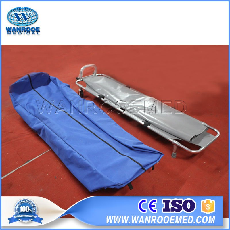Emergency Folding stretcher, Collapsible Medical Stretcher, Transport Stretcher, Dead Body Stretcher, Hospital Supplies Stretcher