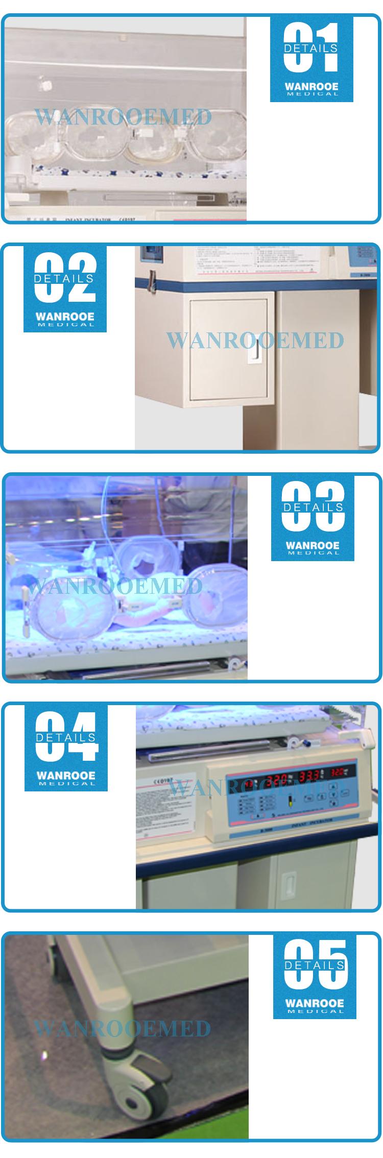 Neonatal Baby Warmer, Hospital Infant Incubator, Medical Infant Warmer, Baby Transport Incubator