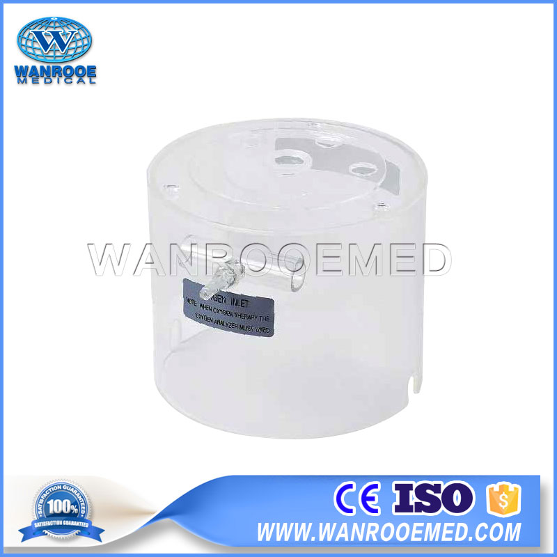 Hospital Infant Care Equipment, Baby Neonatal Infant, Non-contact Oxygen Hood