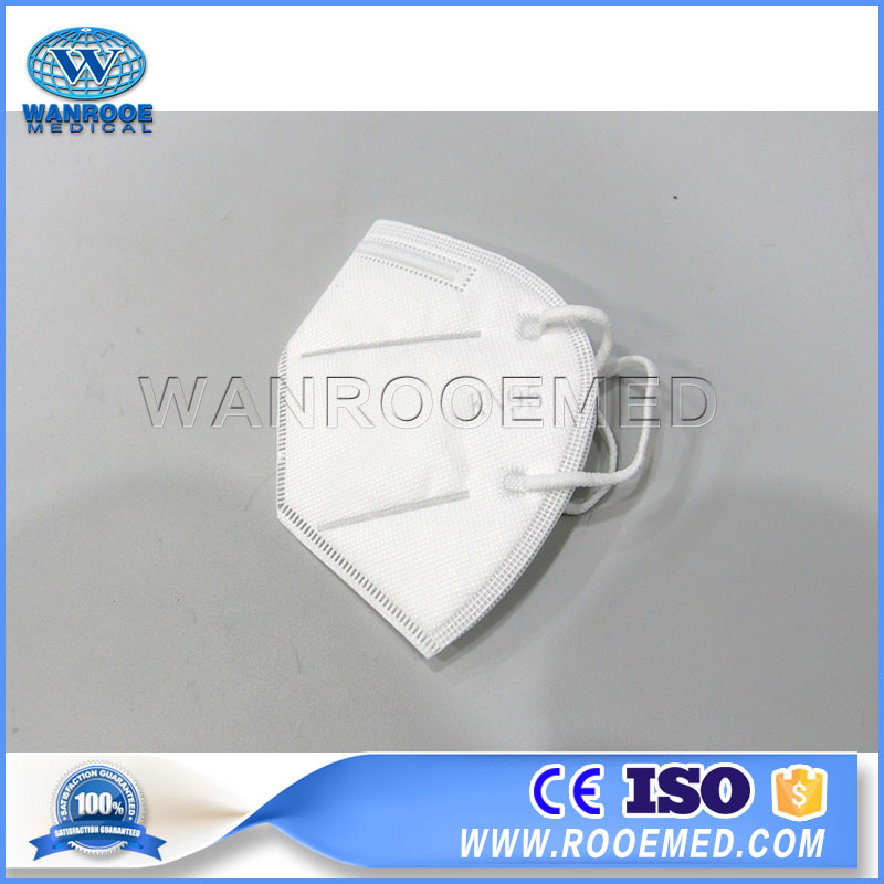 KN95 Face Mask, With Outside Aluminum Strip Nose Bridge, Disposable Face Mask