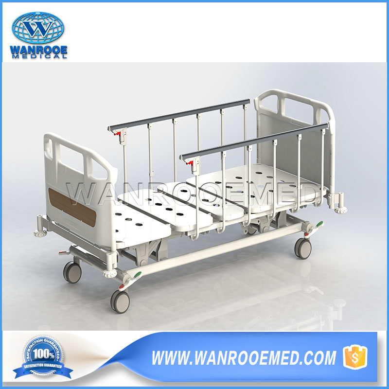 3 Function Hospital Bed, Adjustable Electric Bed, Portable Hospital Bed, Medical Electric Bed, Medical Patient Bed