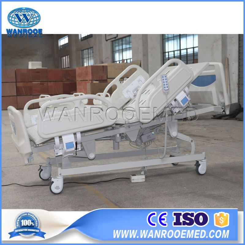 Electric Hospital Bed, Electric Hospital Cot, 5 Function Hospital Bed, Medical Electric Bed, Adjustable Electric Bed