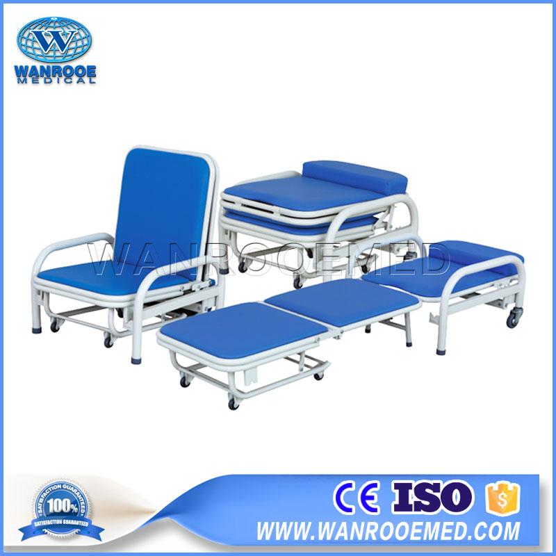 Attendant Chair, Accompany Chair, Escort Chair, Hospital Foldable Chair, Hospital Sleeping Chair, Hospital Chair, Hospital Bed Chair Position