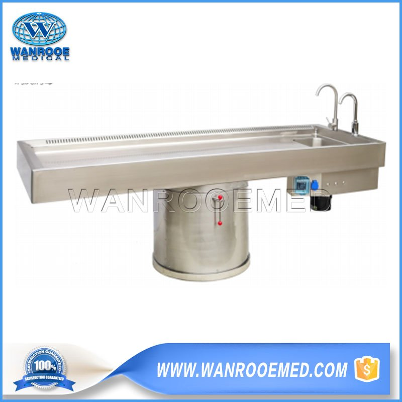 Multi-functional Autopsy Table, Forensic Autopsy Table, Autopsy Table, Hospital Autopsy Table, Medical Autopsy Table