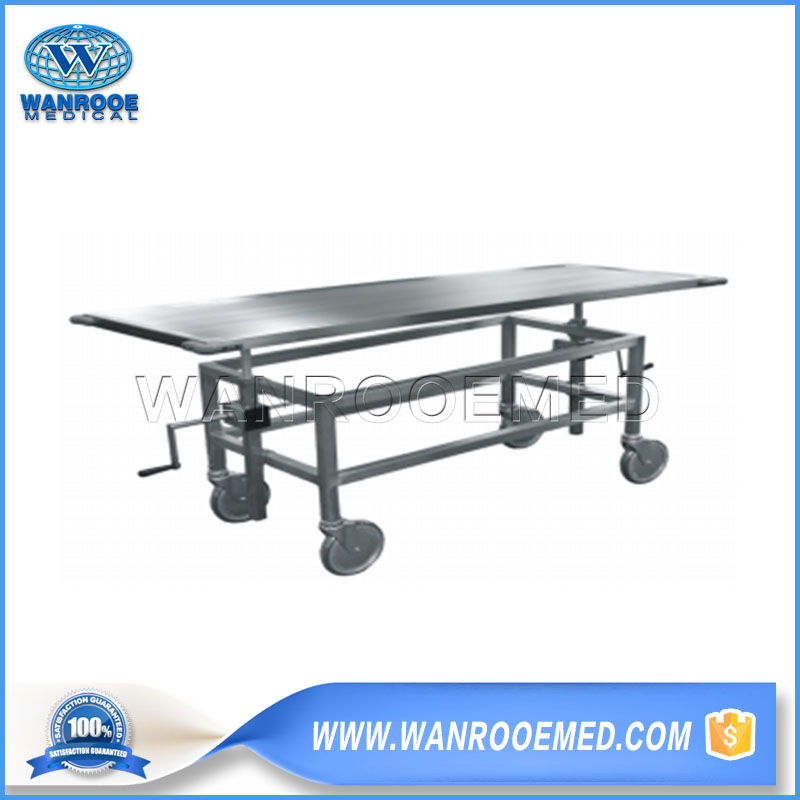 Stainless Steel Autopsy Cart, Autopsy Cart, Medical Autopsy Cart, Funeral Autopsy Cart