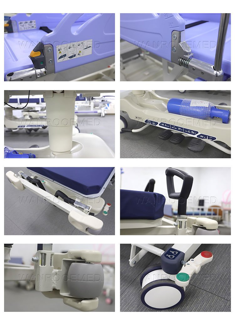 Transfer Ambulance Stretcher, Emergence Ambulance Stretcher, Ambulance Rescue Stretcher, Medical Hydraulic Stretcher