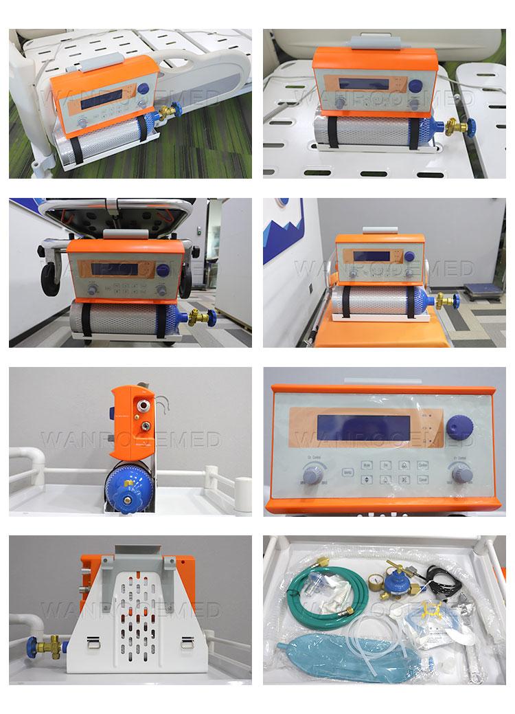 Emergancy Ventilator, Portable Transfer Ventilator, Medical Transfer Ventilator, Ventilator For Ambulance