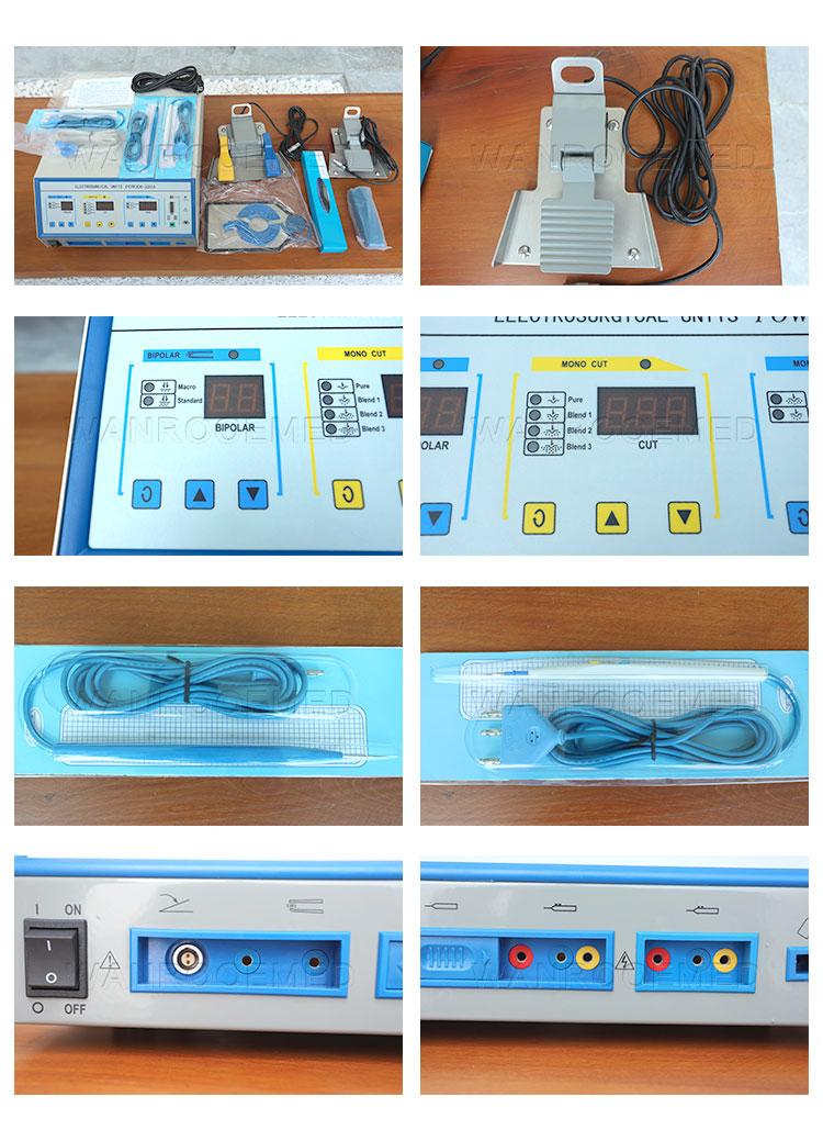 Monopolar Electrosurgical Unit, Bipolar Electrosurgical Unit, Surgical Electrosurgical Unit, Medical Electrosurgical Unit, Operating Unit