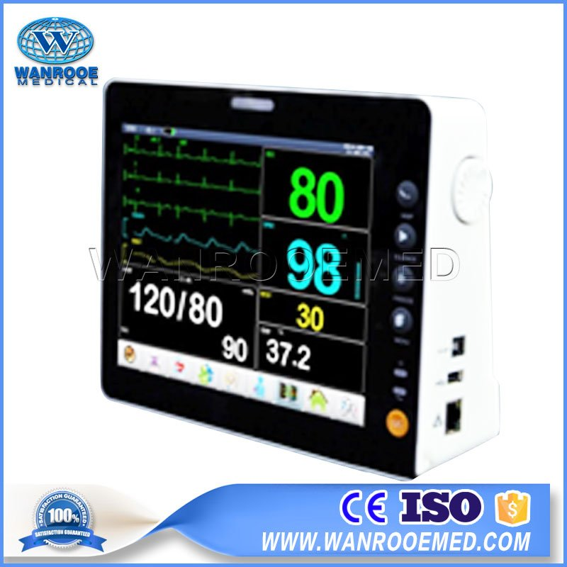 Portable Patient Monitor, Emergency Patient Monitor, Patient Monitor System, Medical Equipment Monitor, ICU Patient Monitor