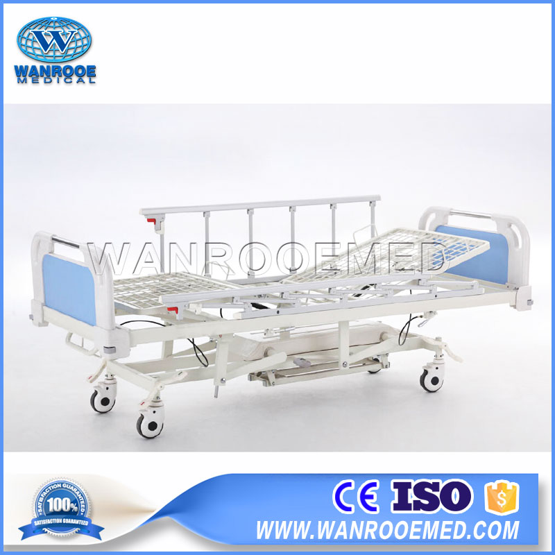 Hydraulic Hospital Bed, Manual Crank Hydraulic Bed, Hydraulic Bed, Hydraulic Patient Bed