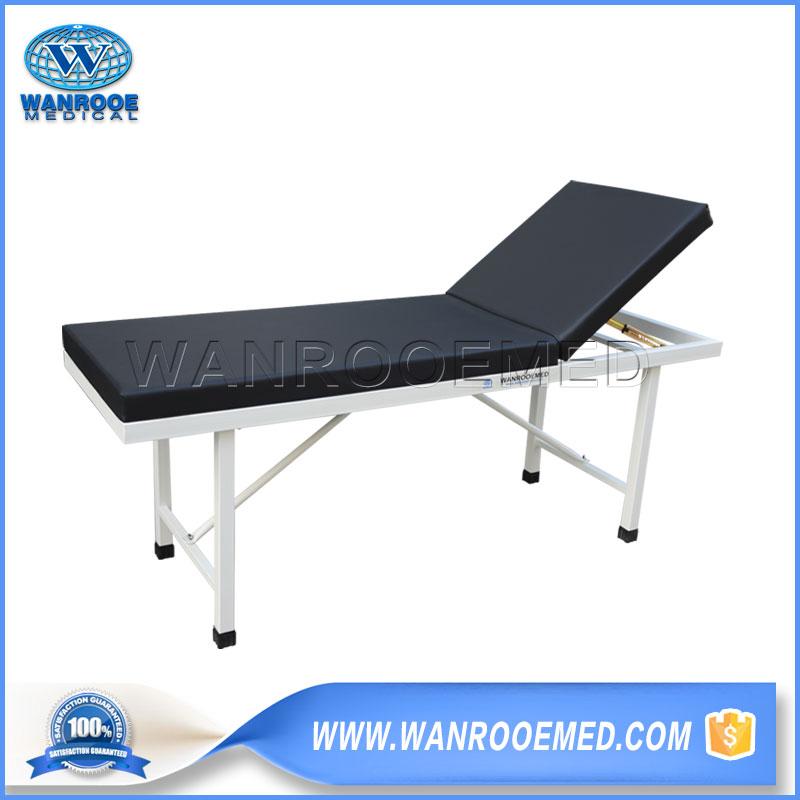 Medical Examination Couch, Hospital Examination Couch, Examination Couch, 2 Sections Examination Couch, Epoxy Coated Tubular Steel Examination Couch