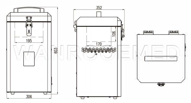 Medical Freezer, Portable Ultra-low Freezer, Portable Refrigerator, Vehicle-mounted Freezer, Medical -86℃ Refrigerator
