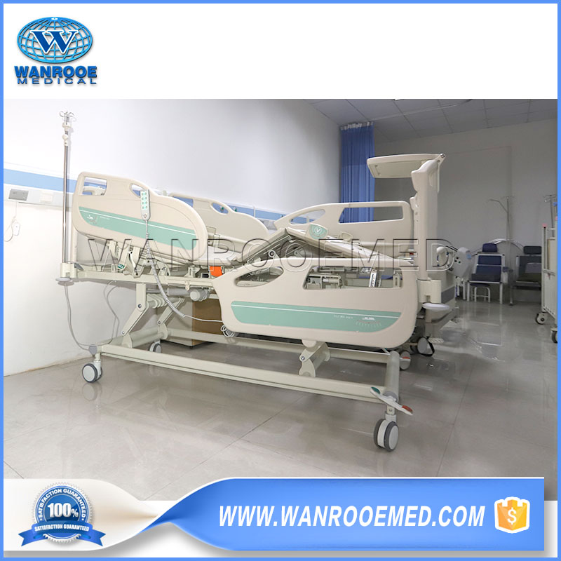 Medical Electric Bed, Electrical Hospital Bed, Three Functions Bed, Medical 3 Crank Electric Bed