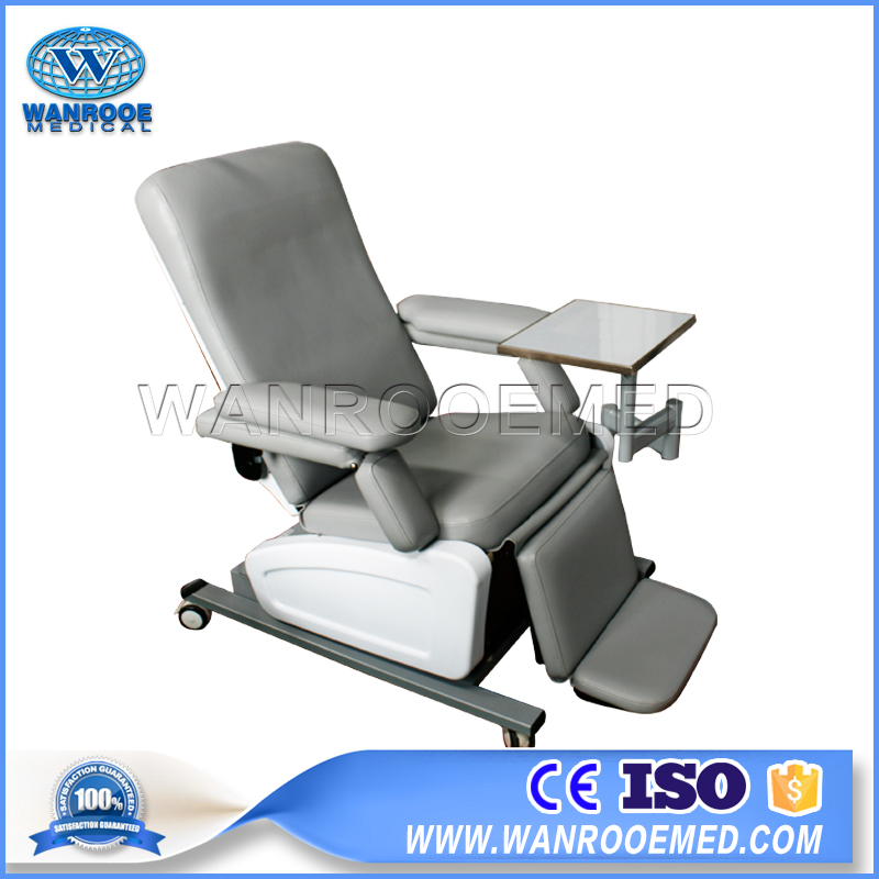 Medical Dialysis Chair, Electric Blood Collection Chair, Adjustable Blood Donation Chair, Hospital Blood Donor Chair, Fodable Blood Donor Chair