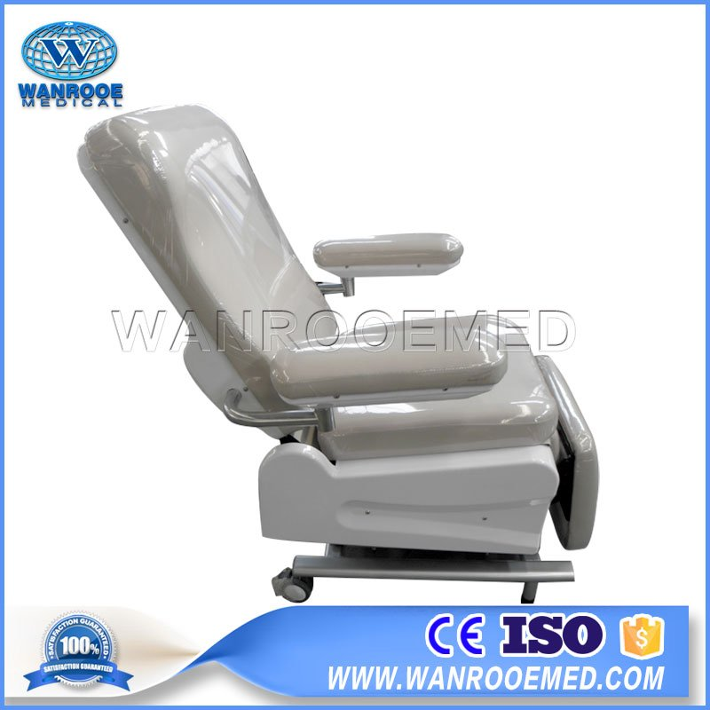 Medical Blood Donor Chair, Maunal Blood Donation Chair, Adjustable Blood Draw Chair, Hospital Blood Chair, Mobile Blood Donation Chair