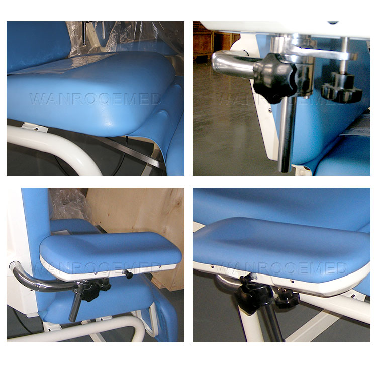 Dialysis Donation Chair, Medical Blood Chair, Manual Donation Chair, Hospital Blood Donation Chair, Blood Collection Chair