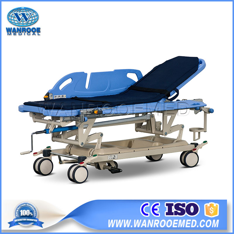 manual stretching, manual stretcher, hospital stretcher, hospital bed stretcher, hospital stretcher cost, transfer cart, manual transfer carts