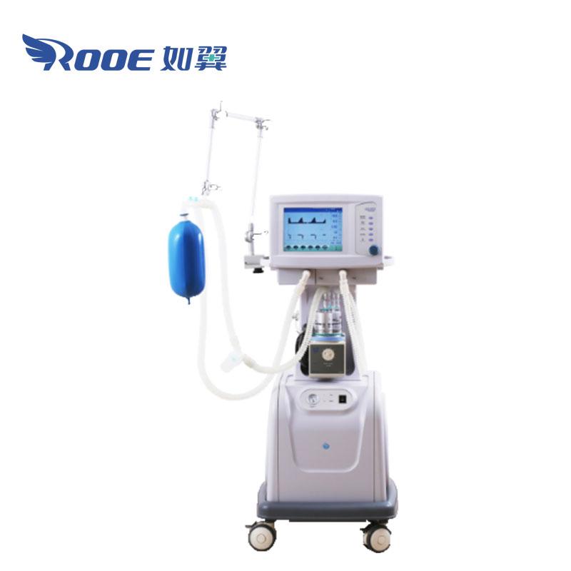 ICU Ventilator, Electric Ventilator, Oxygen Breathing Machine, Portable Oxygen Ventilator, Oxygen Ventilator